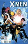 Cover Thumbnail for X-Men (2010 series) #1 [Paco Medina Blue Variant Cover]
