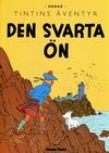 Cover for Tintins äventyr: Den svarta ön (Bonnier Carlsen, 2010 series)
