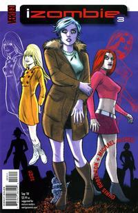 Cover Thumbnail for I, Zombie [iZombie] (DC, 2010 series) #3