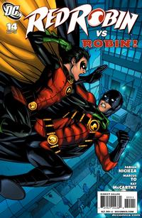 Cover Thumbnail for Red Robin (DC, 2009 series) #14