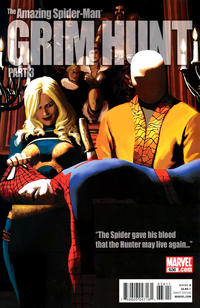 Cover for The Amazing Spider-Man (Marvel, 1999 series) #636 [50/50 - Mike Fyles Cover]