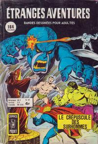 Cover Thumbnail for Etranges Aventures (Arédit-Artima, 1966 series) #49