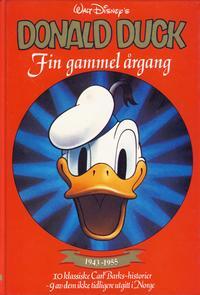 Cover Thumbnail for Donald Duck bøker [Gullbøker] (Hjemmet / Egmont, 1984 series) #[1985] - Fin gammel årgang