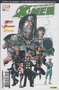 Cover Thumbnail for Astonishing X-Men (Panini France, 2005 series) #38