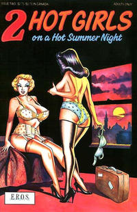 Cover Thumbnail for 2 Hot Girls on a Hot Summer Night (Fantagraphics, 1991 series) #2