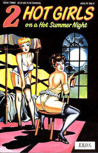 Cover Thumbnail for 2 Hot Girls on a Hot Summer Night (Fantagraphics, 1991 series) #3
