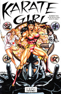 Cover Thumbnail for Karate Girl (Fantagraphics, 1992 series) #2