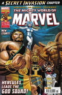 Cover Thumbnail for The Mighty World of Marvel (Panini UK, 2009 series) #11