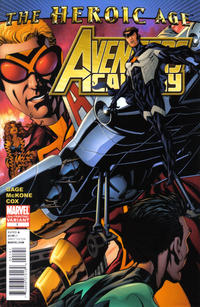 Cover Thumbnail for Avengers Academy (Marvel, 2010 series) #1 [2nd printing variant]
