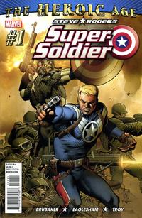 Cover Thumbnail for Steve Rogers: Super-Soldier (Marvel, 2010 series) #1