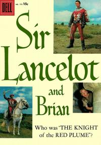 Cover Thumbnail for Four Color (Dell, 1942 series) #775 - Sir Lancelot and Brian [15¢]