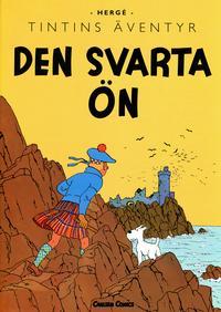 Cover Thumbnail for Tintins äventyr: Den svarta ön (Bonnier Carlsen, 2010 series)