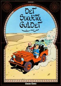 Cover Thumbnail for Tintins äventyr: Det svarta guldet (Bonnier Carlsen, 2010 series)