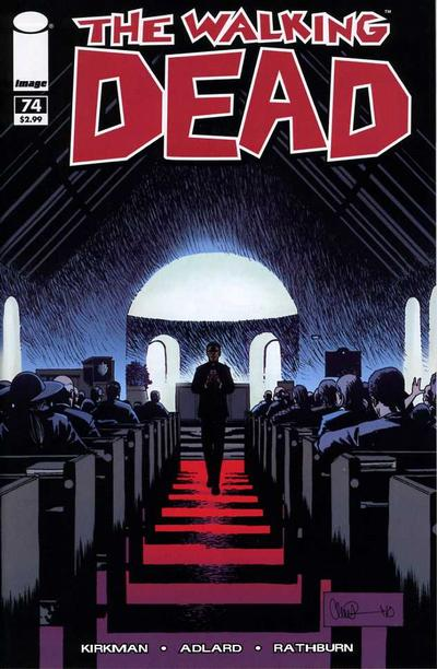 Cover for The Walking Dead (Image, 2003 series) #74