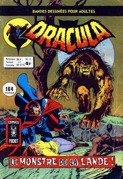 Cover for Dracula (Arédit-Artima, 1974 series) #4