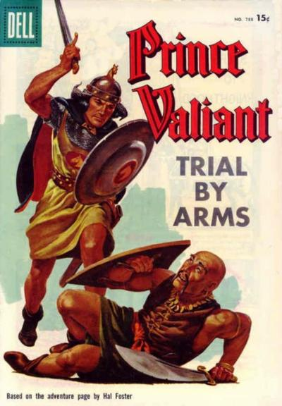 Cover for Four Color (Dell, 1942 series) #788 - Prince Valiant