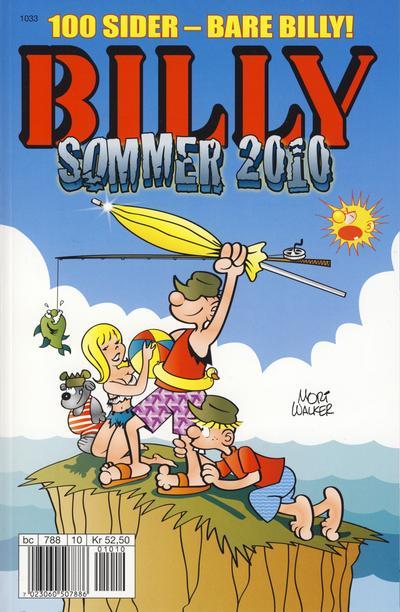 Cover for Billy Sommerspesial / Billy Sommeralbum / Billy Sommer (Hjemmet / Egmont, 1998 series) #2010
