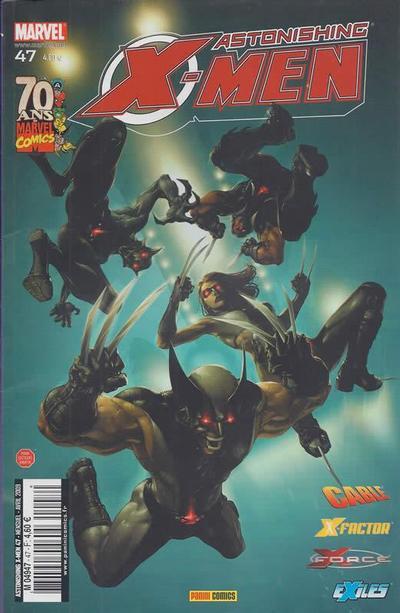 Cover for Astonishing X-Men (Panini France, 2005 series) #47