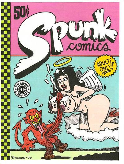 Cover for Spunk Comics (The Comix Company, 2008 series) #1