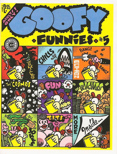 Cover for Goofy Funnies (The Comix Company, 2008 series) #5