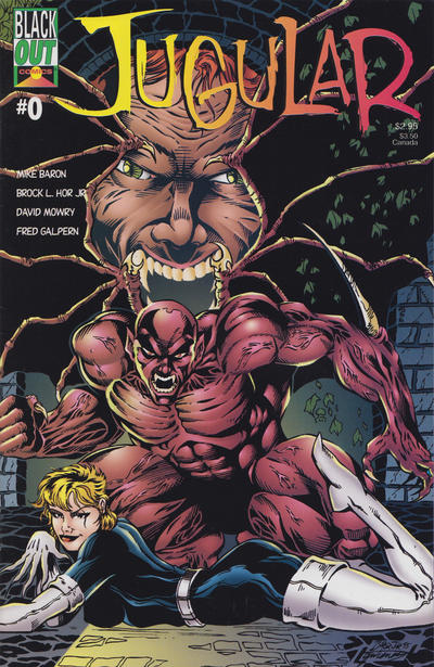 Cover for Jugular (Blackout Comics, 1995 series) #0