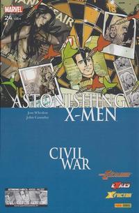 Cover Thumbnail for Astonishing X-Men (Panini France, 2005 series) #24