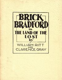 Cover for Brick Bradford in The Land of the Lost (Pacific Comics Club, 1981 series)