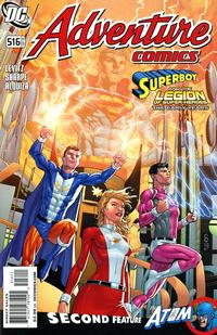 Cover Thumbnail for Adventure Comics (DC, 2009 series) #516