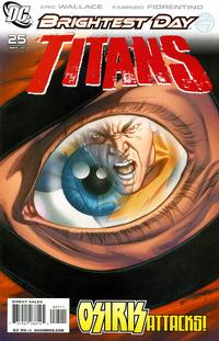 Cover Thumbnail for Titans (DC, 2008 series) #25