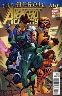 Cover Thumbnail for Avengers Academy (Marvel, 2010 series) #2