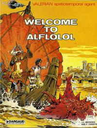 Cover Thumbnail for Valerian (Dargaud International Publishing, 1981 series) #[3] - Welcome to Alflolol