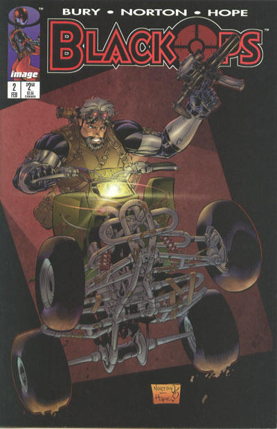 Cover for Black Ops (Image, 1996 series) #2