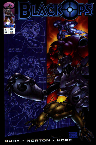 Cover for Black Ops (Image, 1996 series) #4