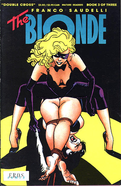 Cover for The Blonde: Double Cross (Fantagraphics, 1991 series) #3