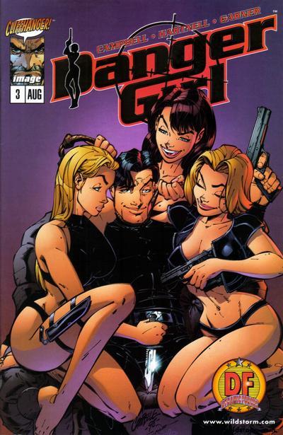 Cover for Danger Girl (Image, 1998 series) #3