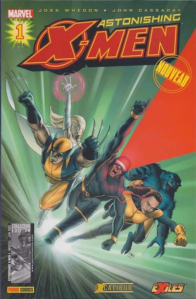 Cover for Astonishing X-Men (Panini France, 2005 series) #1