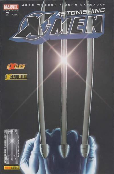 Cover for Astonishing X-Men (Panini France, 2005 series) #2