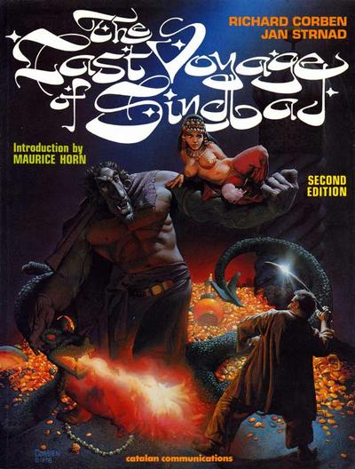 Cover for The Last Voyage of Sindbad (Catalan Communications, 1988 series)