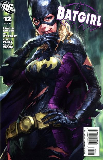 Cover for Batgirl (DC, 2009 series) #12