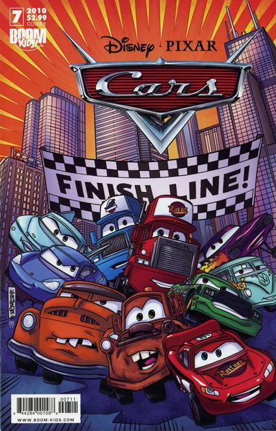 Cover for Cars (Boom! Studios, 2009 series) #7