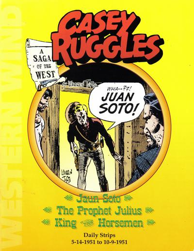 Cover for Casey  Ruggles Daily Strips 5-14-1951 to 10-9-1951 (Pacific Comics Club, 1979 series)