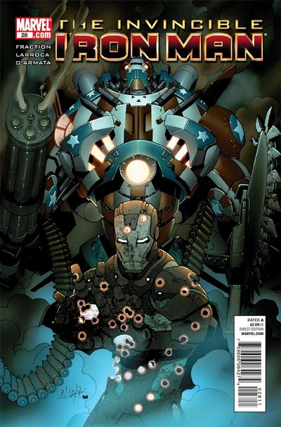 Cover for Invincible Iron Man (Marvel, 2008 series) #28