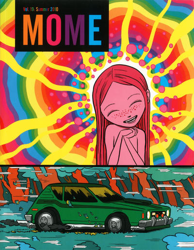 Cover for Mome (Fantagraphics, 2005 series) #19