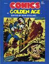 Cover for Comics The Golden Age (New Media Publishing, 1984 series) #4