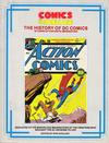 Cover for Comics the Golden Age: The History of DC Comics (New Media Publishing, 1985 series)