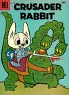 Cover Thumbnail for Four Color (1942 series) #805 - Crusader Rabbit [10¢]