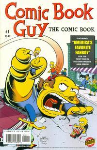 Cover Thumbnail for Bongo Comics Presents Comic Book Guy: The Comic Book (Bongo, 2010 series) #1
