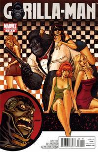 Cover Thumbnail for Gorilla Man (Marvel, 2010 series) #1