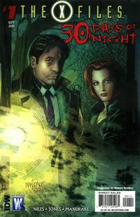 Cover Thumbnail for The X-Files / 30 Days of Night (DC, 2010 series) #1 [Tom Mandrake Cover Variant]