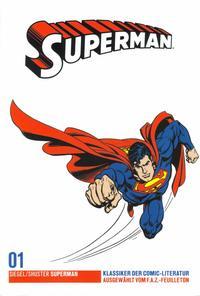 Cover Thumbnail for Klassiker der Comic-Literatur (Frankfurter Allgemeine, 2005 series) #1 - Superman